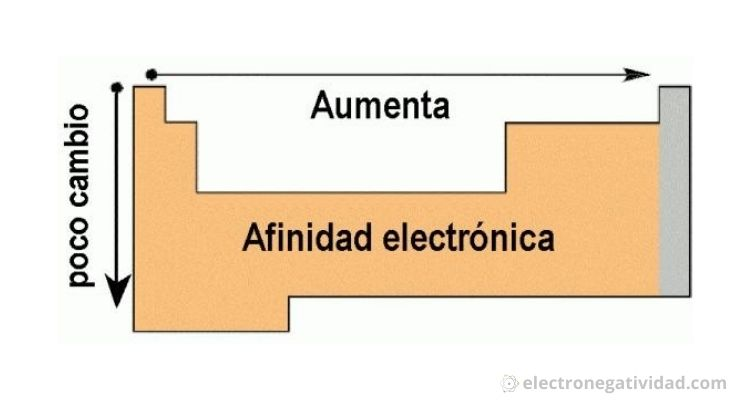 afinidad electronica